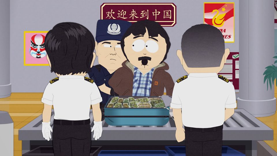 That's Weed! (Season 23 - episode 2 - Band in China)