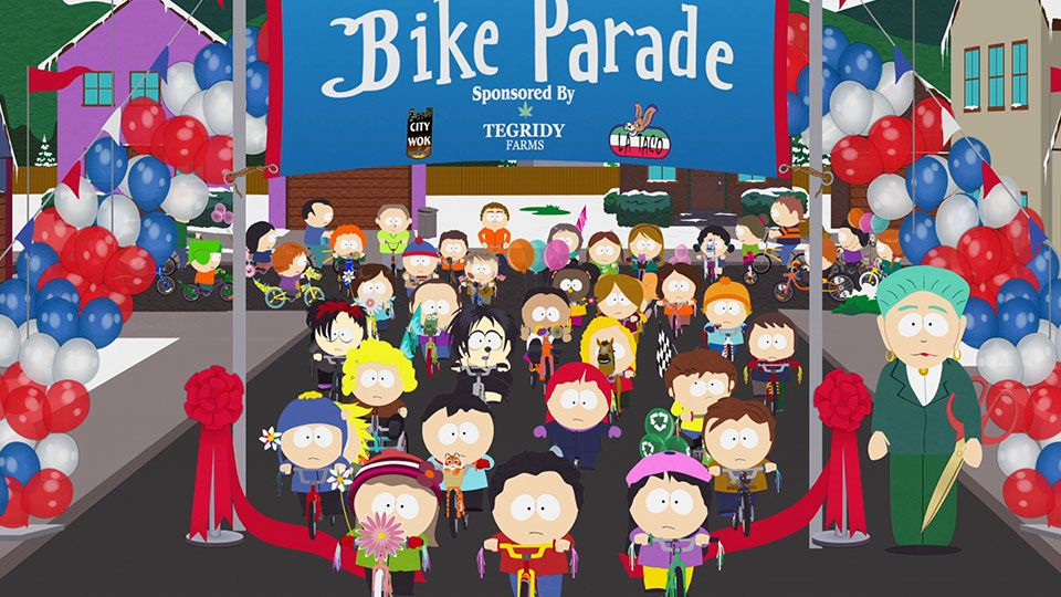 The Bike Parade (Season 22 - episode 10 - Bike Parade)