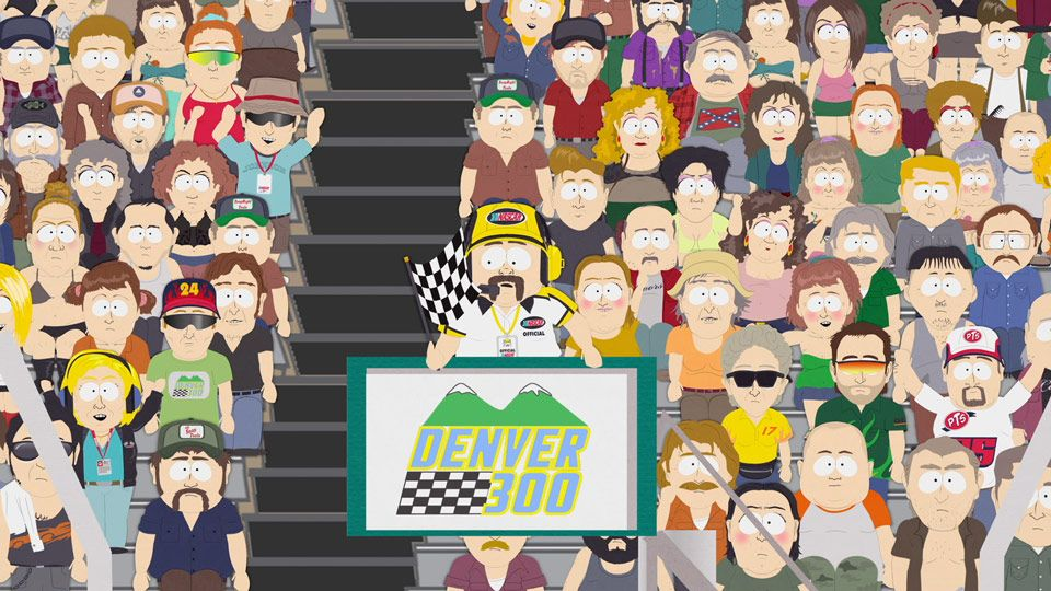 The Checkered Flag (Season 14 - episode 8 - Poor and Stupid)