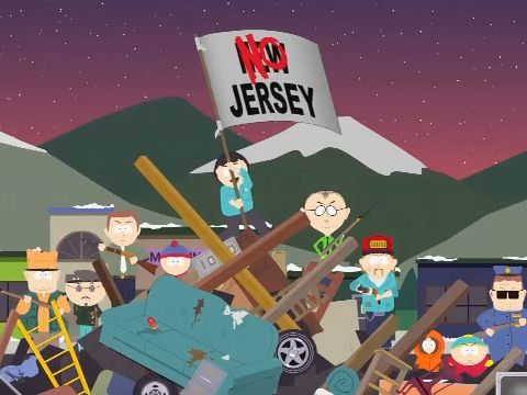 The Jersey Invasion (Season 14 - episode 9 - It's a Jersey Thing)