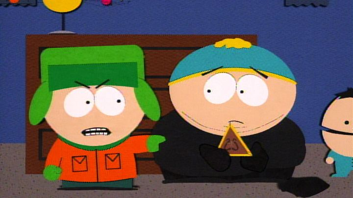 The Triangle Thief - Seizoen 1 Aflevering 12 - South Park
