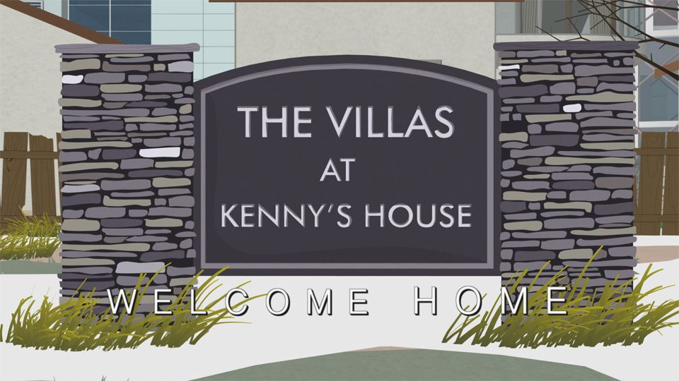 The Villas At Kenny's House (Season 19 - episode 3 - The City Part of Town)