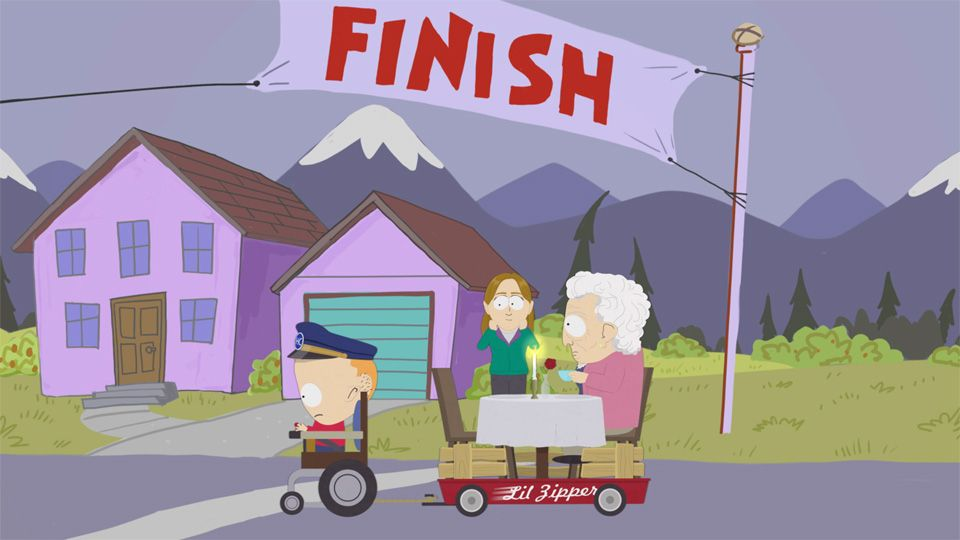 THERE'S THE FINISH! - Seizoen 18 Aflevering 4 - South Park