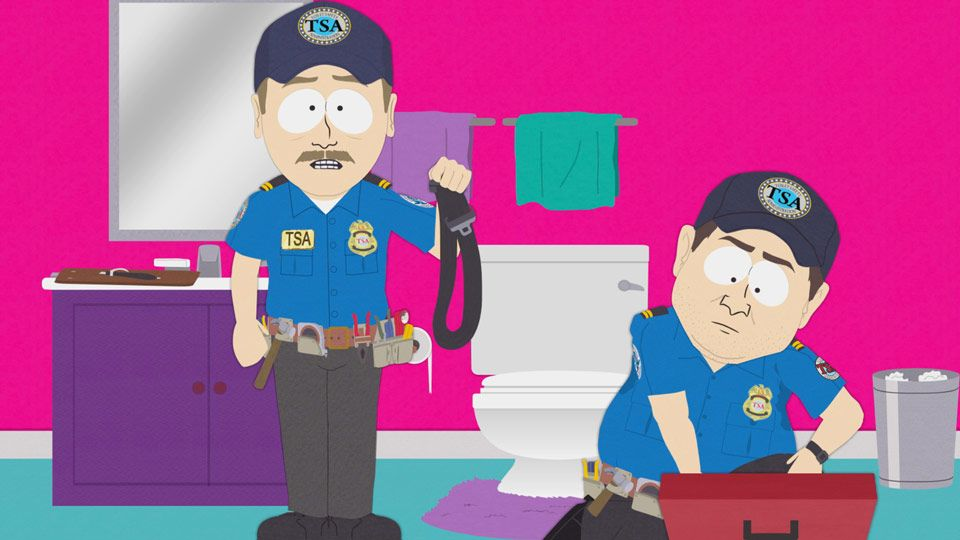 Toilet Safety Administration - Seizoen 16 Aflevering 1 - South Park