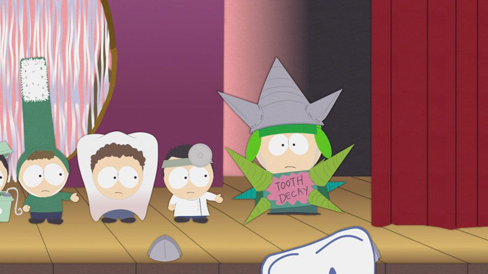 Tooth Decay Has No Believability (Season 15 - episode 3 - Royal Pudding)