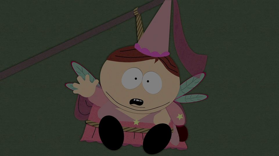 Tooth Fairy Cartman (Season 4 - episode 2 - The Tooth Fairy Tats)