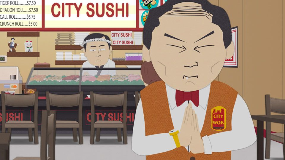 We Can All Be Sneaky (Season 15 - episode 6 - City Sushi)