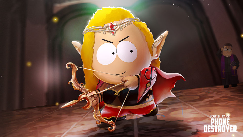 Blood Elf Bebe has emerged from the shadows! - South Park